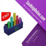 Summary Statistics Using SAS