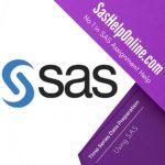 Time Series Data Preparation Using SAS